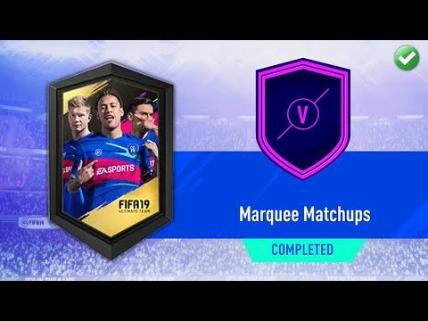 MARQUEE MATCHUPS SBC! (CHEAP & EASY) | FIFA 19 Ultimate Team