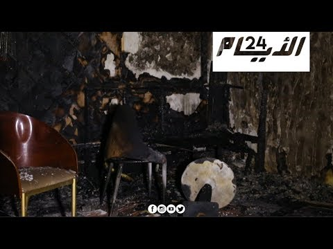 انلاع حريق مهول بمقهى بالبيضاء والسكان غاضبون من صاحبها