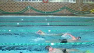Correcciones técnicas en la técnica crol de natación