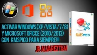 Activador De Windows XP/Vista/7/8 Y Office [2010/2013