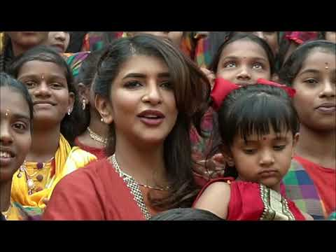 Lakshmi Manchu Celebrates her Sankranthi Festival With Students of Various Govt School Students