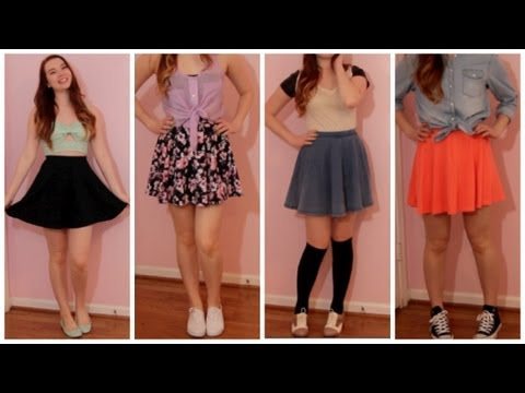 How I Style: Circle Skirts