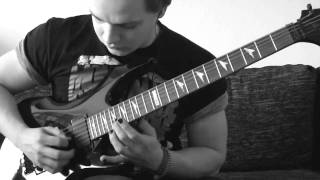 Veil of Maya - It's not safe to swim today guitar cover