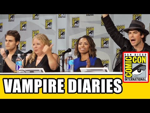 The Vampire Diaries SDCC Official Comic Con Panel 2014