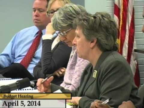 Enfield, CT, USA - Town Council - Budget Meetings FY 14/15 - April 5, 2014 part 2