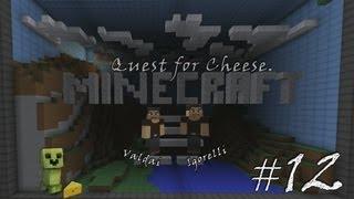 Minecraft Quest for Cheese. Серия 12 - Великая Сырная Броня.