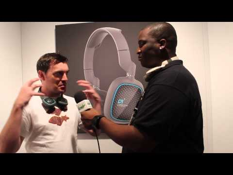 Astro Headset E3 2014 Interview -GamerFitnation
