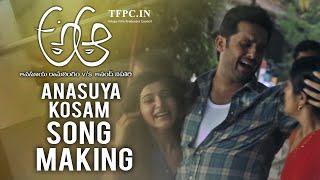 A Aa movie: Making of Anasuya Kosam song
