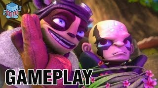 Skylanders Swap Force Gameplay 15 Kaos Fortress