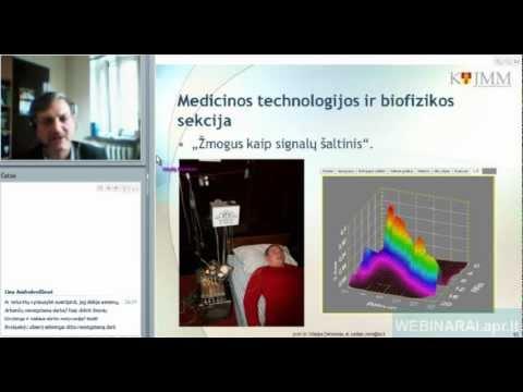 2012.10.03 Vitalijus Denisovas Klaipėdos universiteto Jaunųjų mokslininkų mokyklos pristatymas