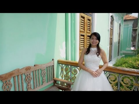 Penang Peranakan Mansion -带着婚纱去旅行Cherry Wedding Gown Travel