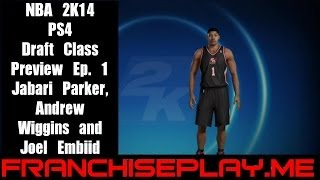 NBA 2K14 Draft Class Preview Ep. 1 Jabari Parker