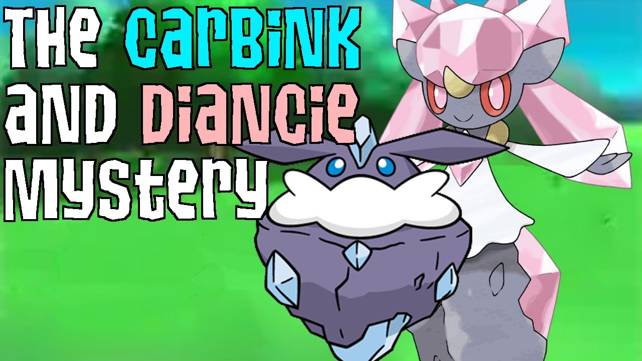 The Carbink and Diancie Mystery - YouTube