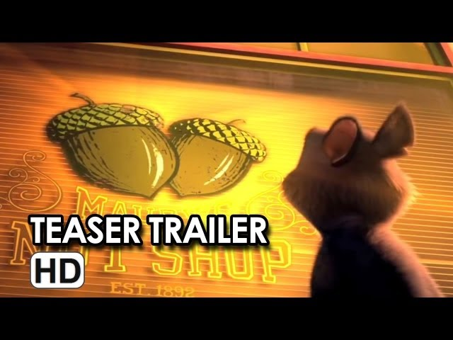 The Nut Job Official Teaser Trailer #1 (2014) - Will Arnett