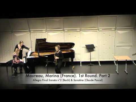 Moureau, Marina (France). 1st Round. Part 2