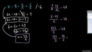 Težje enačbe 5