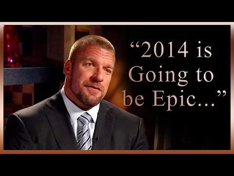 """""""2014 is going to be EPIC"""" - WWE COO Triple H addresses the returns of Brock Lesnar and Batista,"""