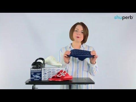 Birkenstock ARIZONA Ladies EVA Dual Buckle Sandals Red