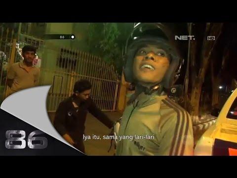 86 Aksi Dramatis Berbahaya Kejar-Kejaran Polisi dengan Puluhan Pembalap Liar  di Sidoarjo