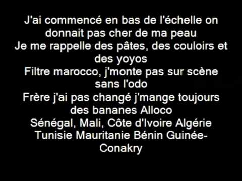 la fouine essaie encore Paroles