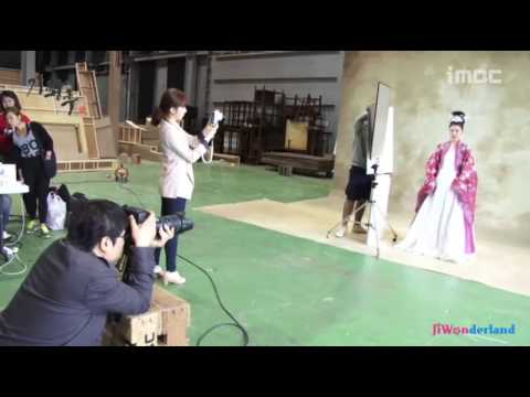 [Vietsub by JiWonderland] Ha Ji Won - Drama Empress Ki Poster shooting