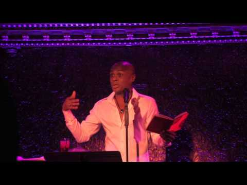 Nathan Lee Graham sings