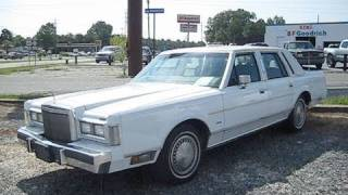 1988 Lincoln Town Car Start Up, Engine, and In Depth Tour videos