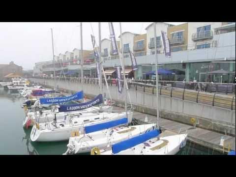 Views around Brighton Marina UK