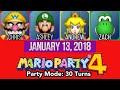 Mario Party 4 vs 4 Uncensored Party Mode 15 Turns