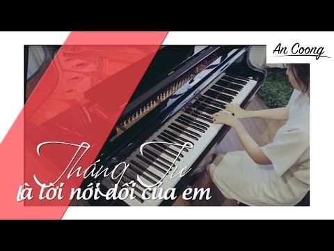 Tháng Tư Là Lời Nói Dối Của Em | Hà Anh Tuấn |  Piano Cover | An Coong