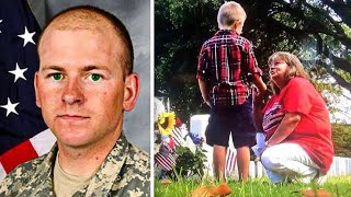 After This Soldier Was Killed In Action, His Mom Saw A Strange Boy Who Kept Appearing At The Grave