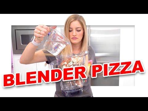 🍕 Blending a Frozen Pizza
