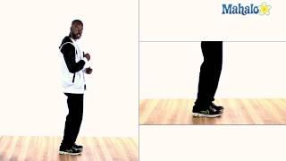 Learn Hip Hop Dance: Kick Cross Step