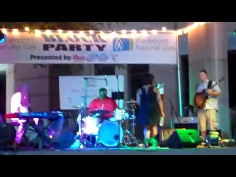 Tez Sherard & Jamey Wright Band at Block Party,Anderson,SC