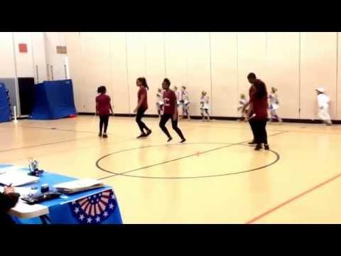 KIPP STAR Twirlers 1st Baton Competition, Small Beginner Preteen Dance Twirl to