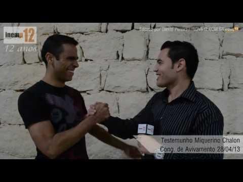 Testemunho Miquerino Chalon - Congresso de Avivamento 2013 Inemp12