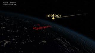NASA NPP Sees Aftermath Of The Chelyabinsk Meteor