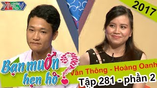 Trao nhau những câu hát ng�t ngào và kết quả của cặp đôi trẻ là..| Văn Thông - Hoàng Oanh | BMHH 281