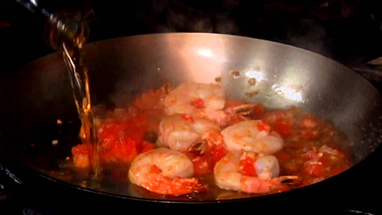 Garlic Prawns With Brandy Cream Sauce : Cooking Fresh With Seafood ...