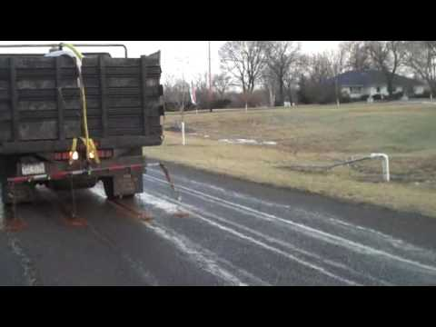 Roadway work; Magic Salt