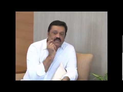 Malayalam movie actor Suresh Gopi from Kerala meets Gujarat CM, BJP pm candidate Narendra Modi