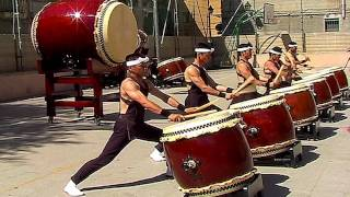 Japanese Drums By Shumei Taiko NEW VERSION
