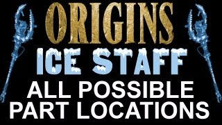 """""""Black Ops 2 Origins"""" How To Build The Blue Ice Staff! ALL"""