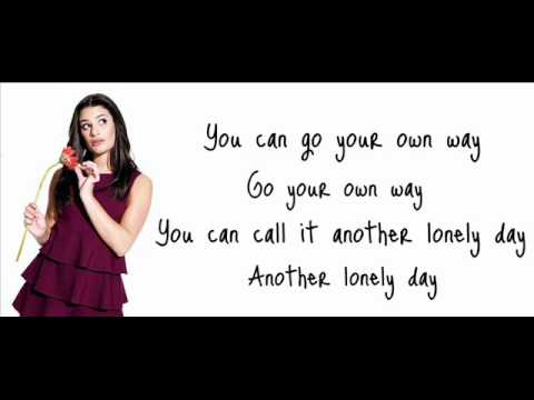 Vanessa Hudgens - Gotta Go My Own Way Lyrics | MetroLyrics