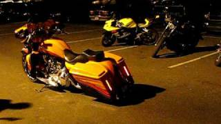 Flame Throwing Harley Street Glide