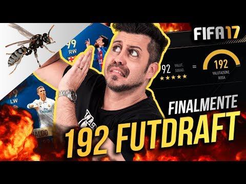 SPETTACOLO 192 FUT DRAFT CHALLENGE -  SCAPPO DAL CALABRONE - FIFA 17