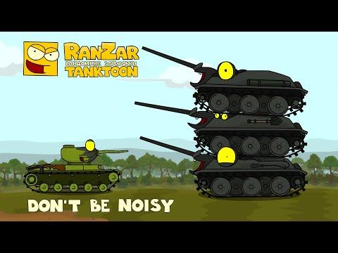 Tanktoon - nebuď hlučný