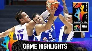 Philippines v Greece - Game Highlights - Group B - 2014 FIBA Basketball World Cup