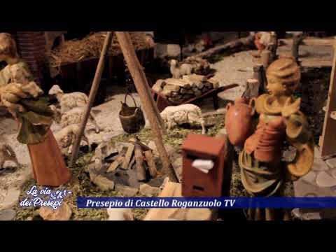 La via dei presepi - Castello Roganzuolo