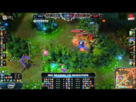[IEM8] [Singapore] [Bán Kết 2] [Game 1] Saigon Jokers vs CJ Entus Frost [30.11.2013]